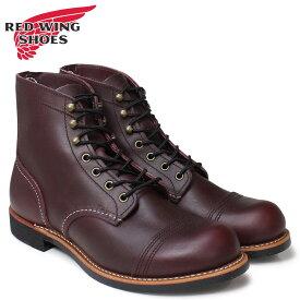 レッドウィング RED WING ブーツ アイアン レンジ 6インチ メンズ アイアンレンジャー 6INCH IRON RANGER Dワイズ ブラウン 8119