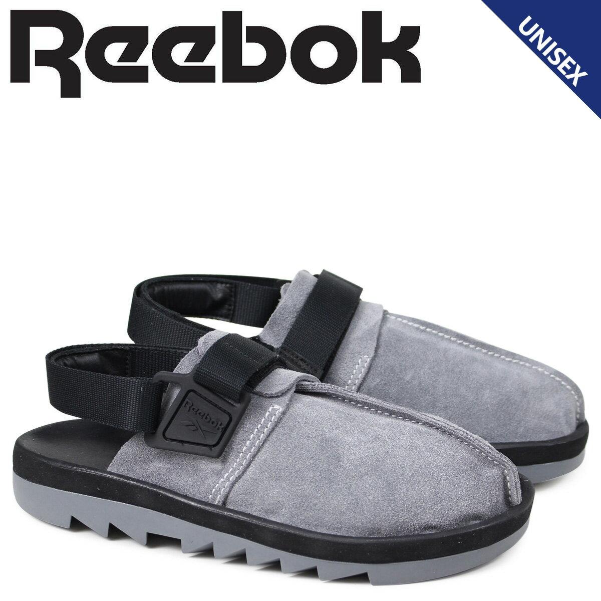 リーボック ビートニック レディース メンズ サンダル Reebok BEATNIK CN3730 グレー [3/16 新入荷]