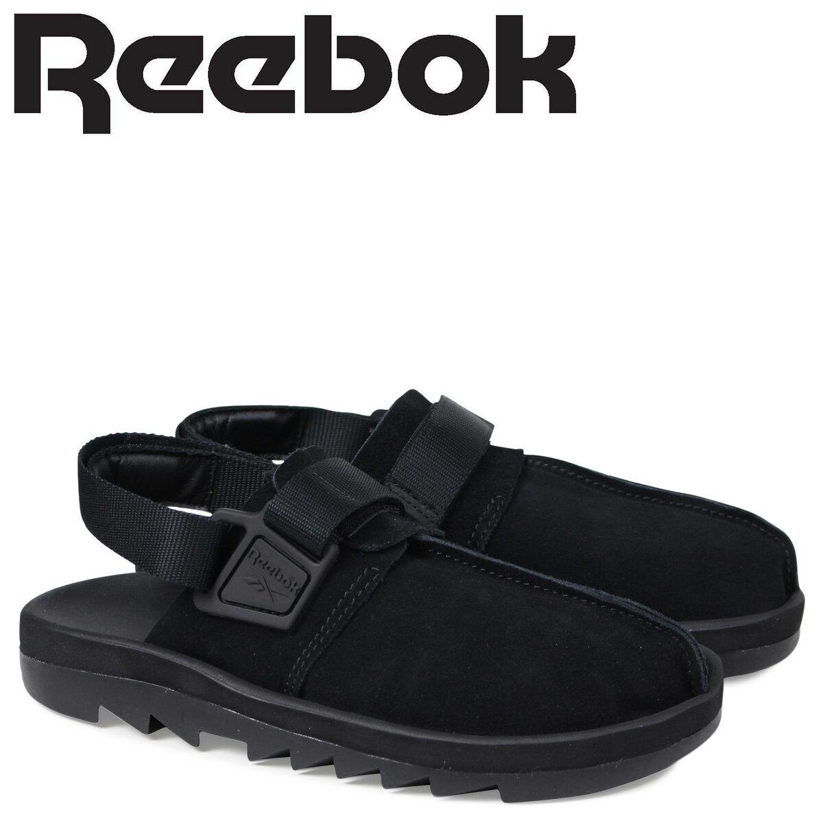 リーボック ビートニック レディース メンズ サンダル Reebok BEATNIK CN3732 ブラック [3/16 新入荷]