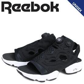 【お買い物マラソンSALE】 リーボック Reebok インスタ ポンプフューリー サンダル スポーツサンダル メンズ レディース INSTAPUMP FURY SANDAL ブラック 黒 DV9699