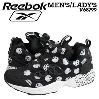 銳步銳步 insta 泵憤怒運動鞋 INSTAPUMP 憤怒道 SG V68799 男式女式鞋黑色