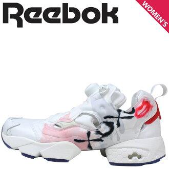 Reebok Reebok pump fury cerebrate sneakers Womens INSTAPUMP FURY CELEBRATE V69142 shoes white