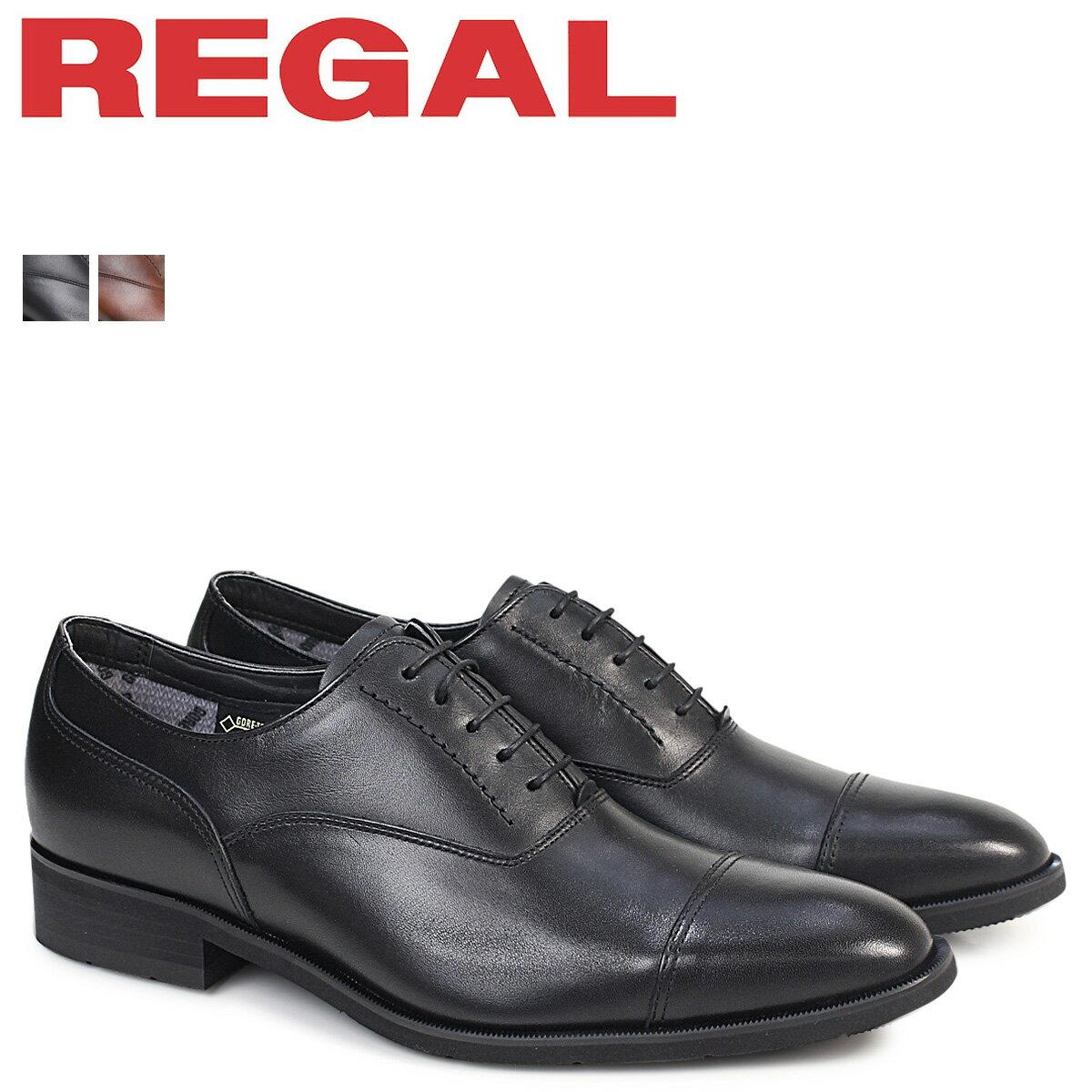 リーガル 靴 メンズ REGAL ストレートチップ 35HRBB ビジネスシューズ 防水 日本製 [2/13 追加入荷]