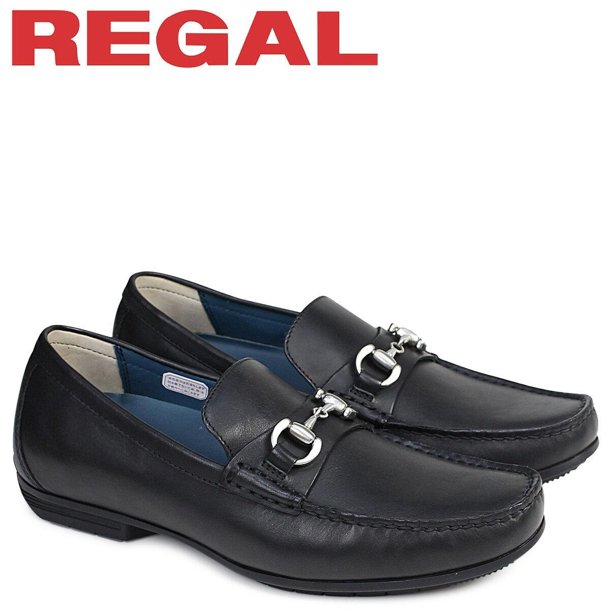 リーガル 靴 メンズ REGAL ドライビングシューズ 57HRAF カジュアル ブラック [5/8 追加入荷]