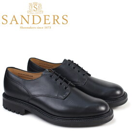 SANDERS サンダース ミリタリー オックスフォード シューズ WORCESTER 9920BW メンズ ブラック
