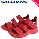 【決算SALE】 スケッチャーズ SKECHERS ディライト 2.0 サンダル スポーツサンダル レディース DLITES 2.0 COOL COSMOS レッド 32998 [7/11 再入荷]