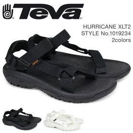 【お買い物マラソンSALE】 Teva テバ サンダル メンズ ハリケーン XLT2 HURRICANE ブラック ホワイト 1019234