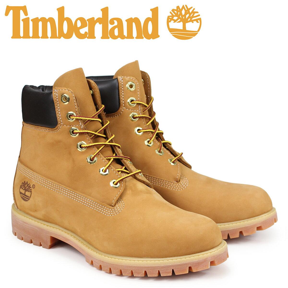 【最大2000円OFFクーポン】 Timberland MENS 6-INCH PREMIUM WATERPROOF BOOTS ティンバーランド ブーツ メンズ 6インチ イエロー 10061 [3/19 再入荷]