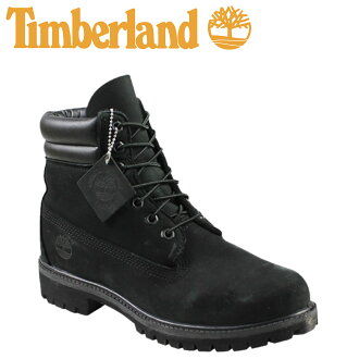 Timberland Timberland 6 inch double boots 6 INCH DOUBLE COLLAR BOOT nubuck mens 73541 black [3 / 24 new in stock] [regular]