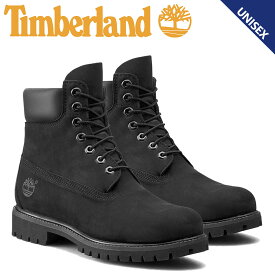 Timberland 6INCH PREMIUM WATERPROOF BOOTS ティンバーランド ブーツ メンズ レディース 6インチ プレミアム ウォータープルーフ 防水 ブラック 10073 [ 10月 追加入荷]