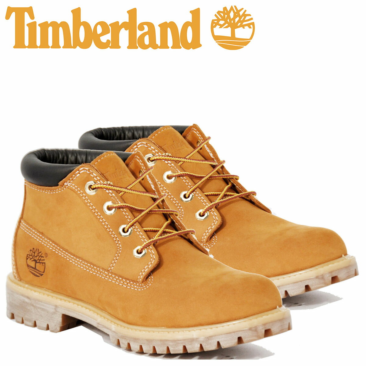 ティンバーランド ブーツ チャッカ メンズ Timberland WATERPROOF CHUKKA BOOT 23061 Wワイズ 防水 [11/1 追加入荷]