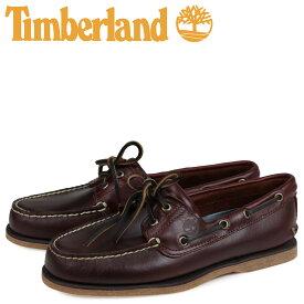 ティンバーランド Timberland デッキシューズ メンズ EK 2EYE BOAT SHOES 25077 ブラウン
