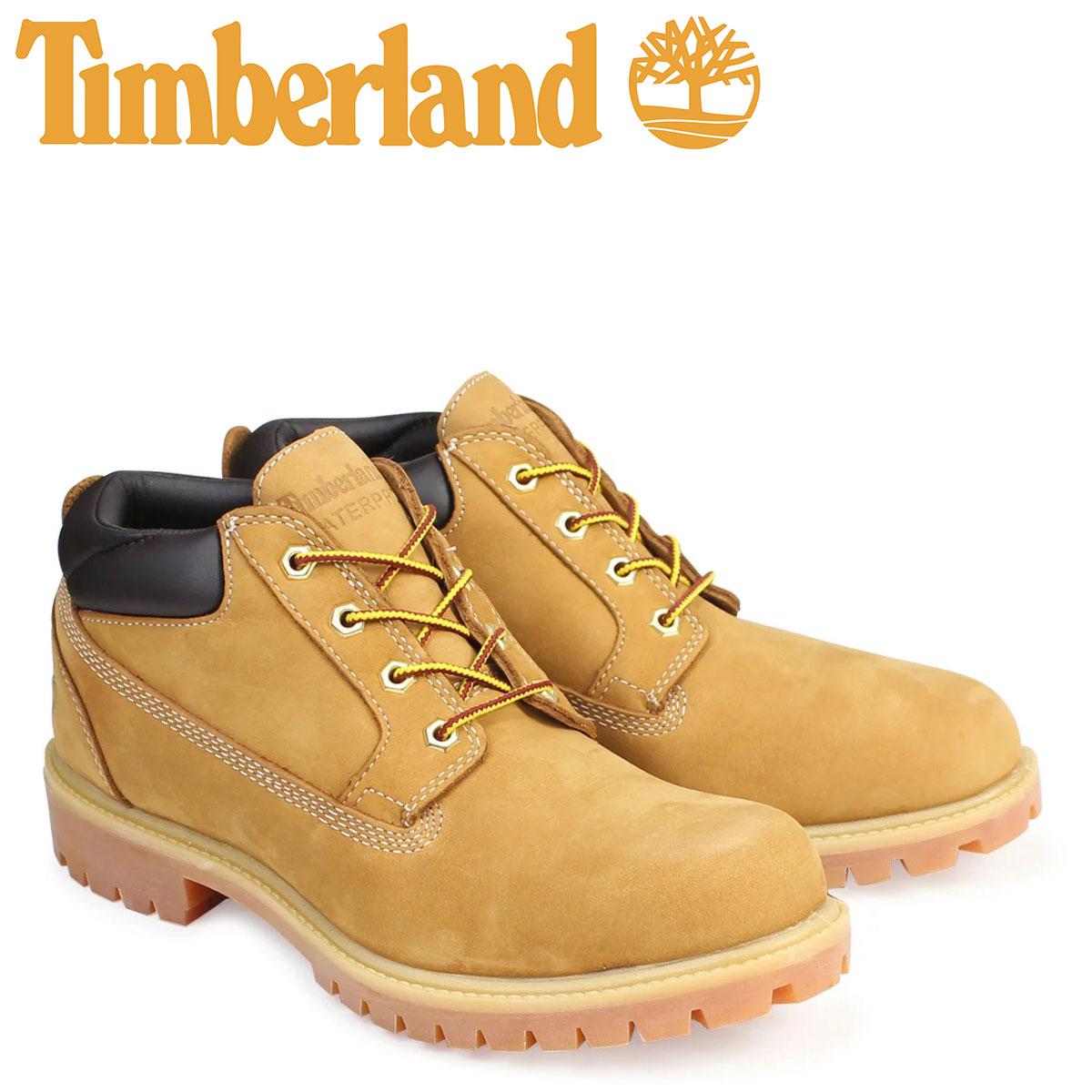 ティンバーランド ブーツ メンズ Timberland オックスフォード PREMIUM WATERPLOOF OXFORD 73538 Wワイズ プレミアム ウィート 防水 [3/14 追加入荷]