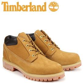 ティンバーランド Timberland ブーツ メンズ オックスフォード PREMIUM WATERPLOOF OXFORD 73538 Wワイズ プレミアム ウィート 防水