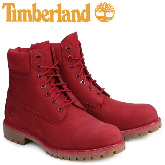 天伯倫天伯倫 6 INCHI 6 英寸溢價靴子英寸溢價防水靴 A1149 W 明智防水紅色男裝