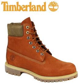 【最大2000円OFFクーポン】 ティンバーランド ブーツ メンズ 6インチ Timberland 6INCH PREMIUM WATERPROOF BOOTS A17YC Wワイズ プレミアム 防水 オレンジ