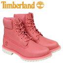ティンバーランド レディース 6インチ Timberland ブーツ 6INCHI WOMEN'S 6-INCH BOOTS A1AQK Wワイズ 防水 ピンク