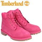 ティンバーランド レディース キッズ 6インチ Timberland ブーツ プレミアム JUNIOR 6INCHI PREMIUM WATERPROOF BOOTS A1ODE Wワイズ 防水 ピンク