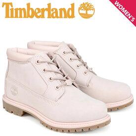 ティンバーランド Timberland チャッカ レディース ブーツ NELLIE CHUKKA DOUBLE A1S7S Wワイズ ライトピンク
