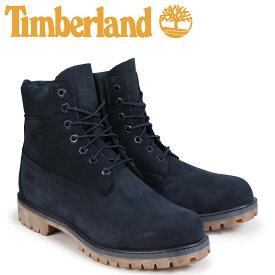 【最大2000円OFFクーポン】 ティンバーランド ブーツ メンズ 6インチ Timberland 6-INCH PREMIUM BOOTS A1TSZ Wワイズ ネイビー