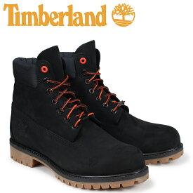 【最大2000円OFFクーポン】 ティンバーランド ブーツ メンズ 6インチ Timberland 6-INCH PREMIUM BOOTS A1U7M Wワイズ ブラック