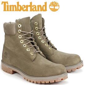 【最大2000円OFFクーポン】 ティンバーランド ブーツ メンズ 6インチ Timberland 6-INCH PREMIUM BOOTS A1UFS Wワイズ ダークベージュ