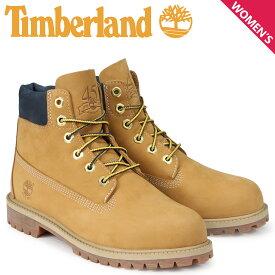 ティンバーランド Timberland ブーツ レディース 6インチ キッズ JUNIOR 6-INCH PREMIUM WATERPROOF BOOTS A1VE5 Wワイズ ウィート