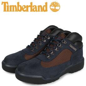 【最大600円クーポン】 ティンバーランド Timberland ブーツ フィールドブーツ メンズ ウォータープルーフ FIELD BOOT F/L WATERPROOF ネイビー A1XMX