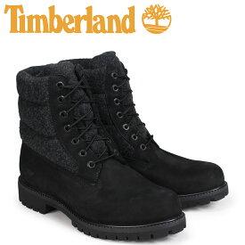 【最大2000円OFFクーポン】 ティンバーランド ブーツ メンズ 6インチ Timberland 6-INCH PREMIUM PUFF BOOTS A1ZR6 Wワイズ ブラック