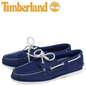 ティンバーランド Timberland クラシック ツーアイ デッキシューズ メンズ CLASSIC 2 EYE Wワイズ ダーク ブルー A1ZTZ