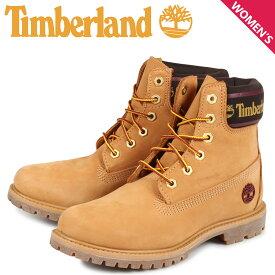ティンバーランド Timberland ブーツ レディース 6インチ WOMENS 6INCH LOGO COLLAR WATERPROOF BOOTS ウィート A25MK [8/22 新入荷]