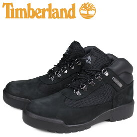 ティンバーランド Timberland フィールド ブーツ メンズ FIELD BOOT F/L WATERPROOF Mワイズ 防水 ブラック 黒 A1A12 [2/14 追加入荷]