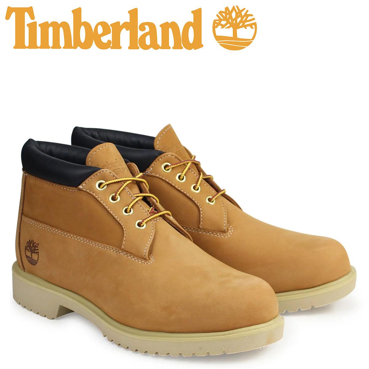ティンバーランド チャッカ メンズ Timberland ブーツ Waterproof Chukka Boot 50061 ウォータープルーフ ウィート