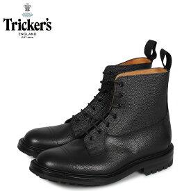 トリッカーズ Trickers カントリーブーツ GRASSMERE 5ワイズ メンズ ブラック 黒 6895