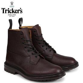 トリッカーズ Trickers カントリーブーツ GRASSMERE 6ワイズ メンズ ブラウン 6895