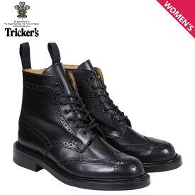 トリッカーズ Trickers レディース カントリーブーツ STEPHY L5676 4ワイズ ブラック