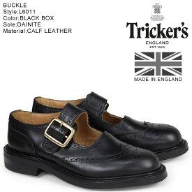 トリッカーズ Trickers レディース ウイングチップ シューズ BUCKLE L6011 4ワイズ