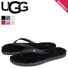 UGG アグ サンダル ビーチサンダル フラッフィー 2 レディース ファー WOMENS FLUFFIE 2 FLIP FLOP ブラック グレー ライト グリーン ピンク 黒 1099835