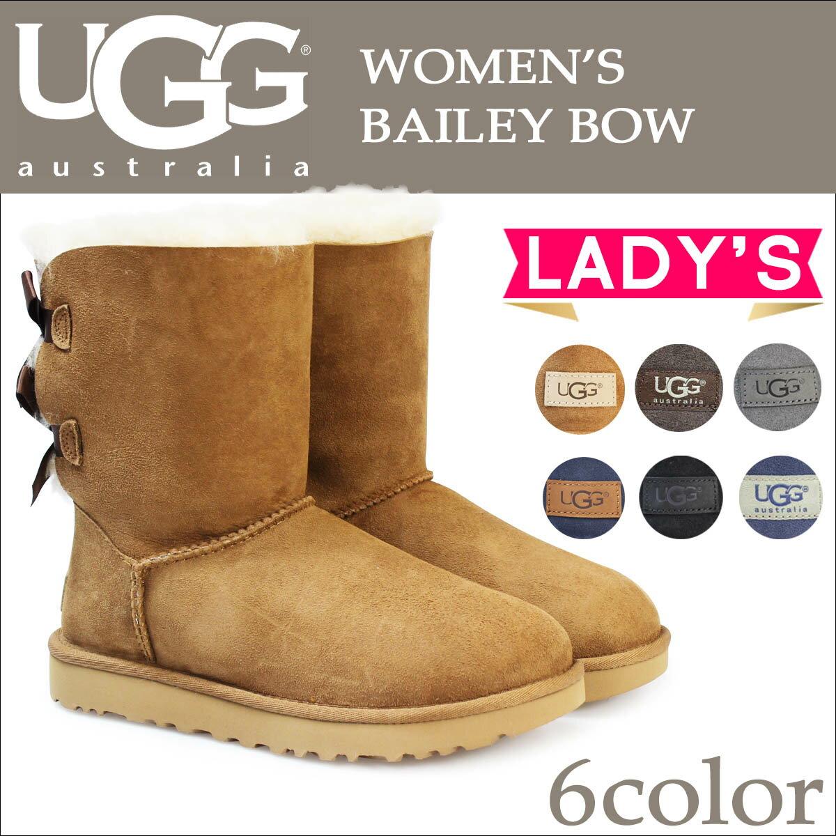 UGG アグ ムートンブーツ ベイリーボウ 2 レディース WOMENS BAILEY BOW II 1002954 1016225