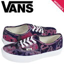 815608952c6 Vans VANS women s AUTHENTIC DELLA sneakers authentic della batik VN-0VOEAW6  pink  regular