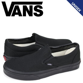 VANS ヴァンズ スリッポン スニーカー メンズ レディース バンズ CLASSIC SLIP-ON ブラック 黒 VN000EYEBKA [9/30 追加入荷]