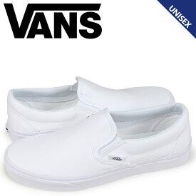 VANS ヴァンズ スリッポン スニーカー メンズ レディース バンズ CLASSIC SLIP-ON VN000EYEW00 ホワイト [8/27 追加入荷]