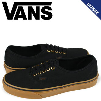 VANS authentic sneakers men vans station wagons AUTHENTIC N000TSVBXH black [load planned Shinnyu load in reservation product 10/2 containing]