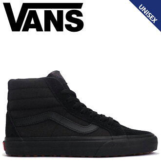 VANS SK8-HI sneakers men gap Dis vans station wagons skating high REISSUE UC VN0A3MV5QBX black [load planned Shinnyu load in reservation product 9/15 containing]