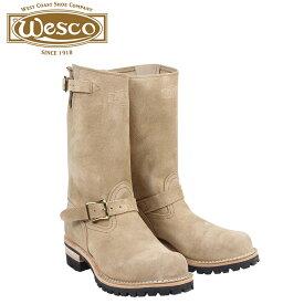 ウエスコ WESCO ボス ブーツ 11インチ エンジニア 11INCH BOSS Eワイズ スエード メンズ ベージュ BE7700100 ウェスコ [9/30 再入荷]