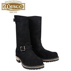 ウエスコ WESCO ボス ブーツ 11インチ エンジニア 11INCH BOSS Eワイズ スエード メンズ ブラック BK7700100 ウェスコ [9/30 追加入荷]