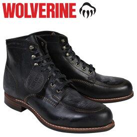 ウルヴァリン WOLVERINE 1000マイル ブーツ 1000MILE ワークブーツ COURTLAND BOOT Dワイズ W00279 ブラック