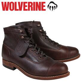ウルヴァリン WOLVERINE 1000マイル ブーツ 1000MILE ROCKFORD CAP-TOE BOOT Dワイズ W05293 ブラウン ワークブーツ メンズ