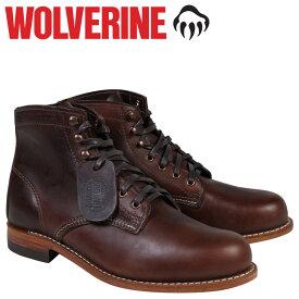 ウルヴァリン WOLVERINE 1000マイル ブーツ 1000MILE BOOT Dワイズ W05301 ブラウン ワークブーツ メンズ