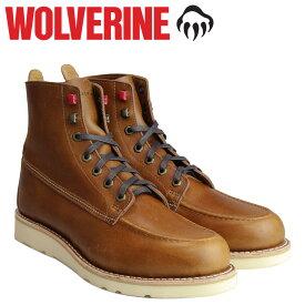 ウルヴァリン WOLVERINE ブーツ メンズ LOUIS WEDGE BOOT Dワイズ W40410 ダークトープ ワークブーツ